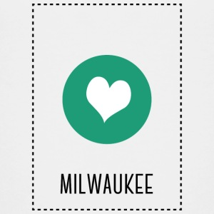 I Love Milwaukee T-shirts - Teenager premium T-shirt