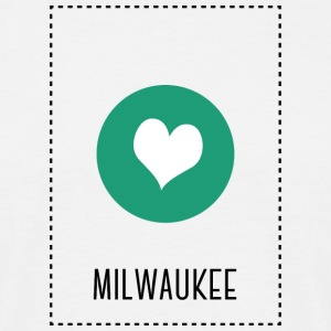 I Love Milwaukee T-Shirts - Men's T-Shirt