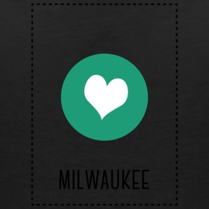 I Love Milwaukee T-Shirts - Women's V-Neck T-Shirt