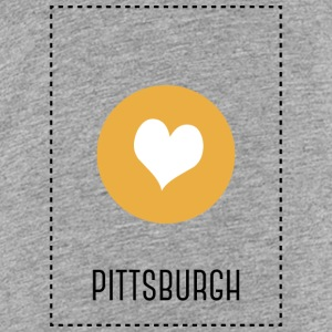 I Love Pittsburgh T-shirts - Premium-T-shirt barn