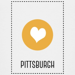 I Love Pittsburgh T-shirts - Teenager premium T-shirt
