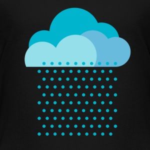 We love rain! weather, cloud, autumn, bike Tee shirts - T-shirt Premium Enfant