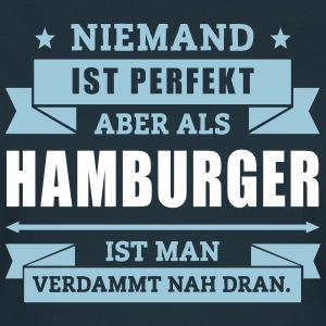 Funshirt Hamburger T-Shirts - Frauen T-Shirt