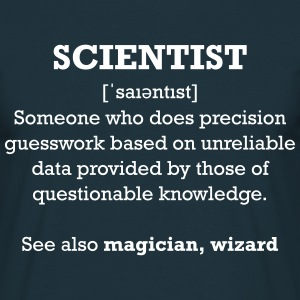 Scientist - Wizard - Männer T-Shirt