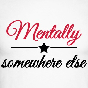 Mentally somewhere else Langarmshirts - Männer Baseballshirt langarm
