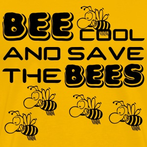 Bee cool & save the Bees T-Shirts - Men's Premium T-Shirt