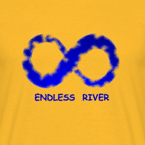 ENDLESS RIVER - Männer T-Shirt