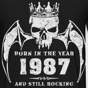 born_in_the_year_198704 T-Shirts - Männer T-Shirt