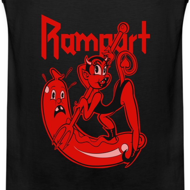 Rampart - Demon Lover Cartoon