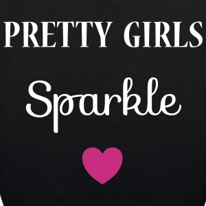 Pretty Girls Sparkle Bags & Backpacks - EarthPositive Tote Bag