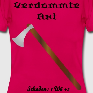 RPG Axt - Frauen T-Shirt