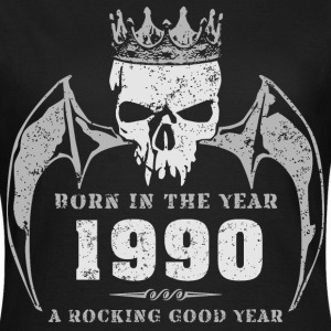 born_in_the_year_199014 T-Shirts - Frauen T-Shirt