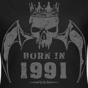 born_in_the_year_199118 T-Shirts - Frauen T-Shirt