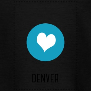 I Love Denver Camisetas - Camiseta adolescente