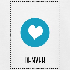 I Love Denver Shirts - Teenage T-shirt