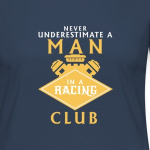 NEVER UNDERESTIMATE A MAN IN A MOTOR CLUB Long Sleeve Shirts - Women's Premium Longsleeve Shirt