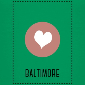 I Love Baltimore Shirts - Teenage Premium T-Shirt