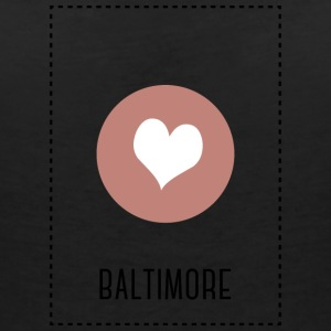 I Love Baltimore T-Shirts - Women's V-Neck T-Shirt