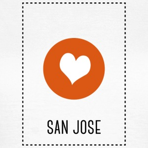I Love San Jose T-Shirts - Frauen T-Shirt