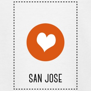 I Love San Jose Shirts - Teenage T-shirt