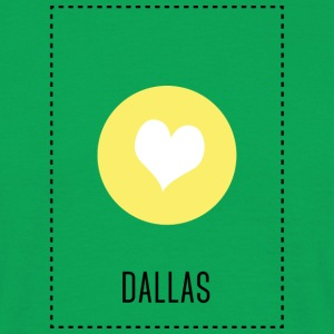 I Love Dallas T-skjorter - T-skjorte for menn