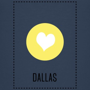 I Love Dallas T-shirts - Premium-T-shirt barn
