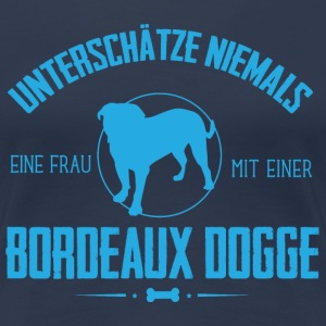UN Bordeaux Dogge T-Shirts - Frauen Premium T-Shirt