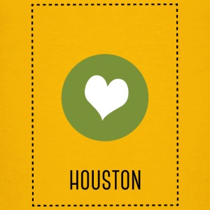I Love Houston T-shirts - Børne premium T-shirt