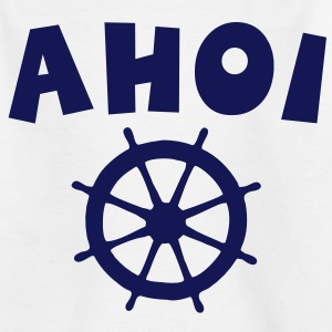 Ahoi Wheel Kinder T-Shirt - Kinder T-Shirt