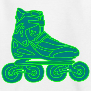 Inline Skates 2 Shirts - Teenage T-shirt