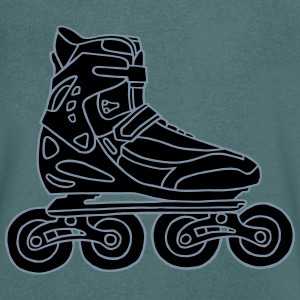 Inline Skates 2 T-Shirts - Men's V-Neck T-Shirt