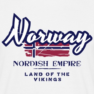 Norway - Nordish Empire - Land of the Vikings T-Shirts - Männer T-Shirt