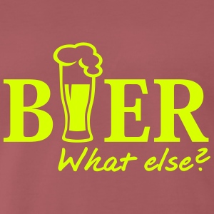 Bierglas - What else T-Shirts - Männer Premium T-Shirt