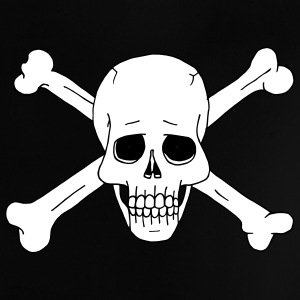 Jolly Roger Scull 2 Baby Shirts  - Baby T-Shirt