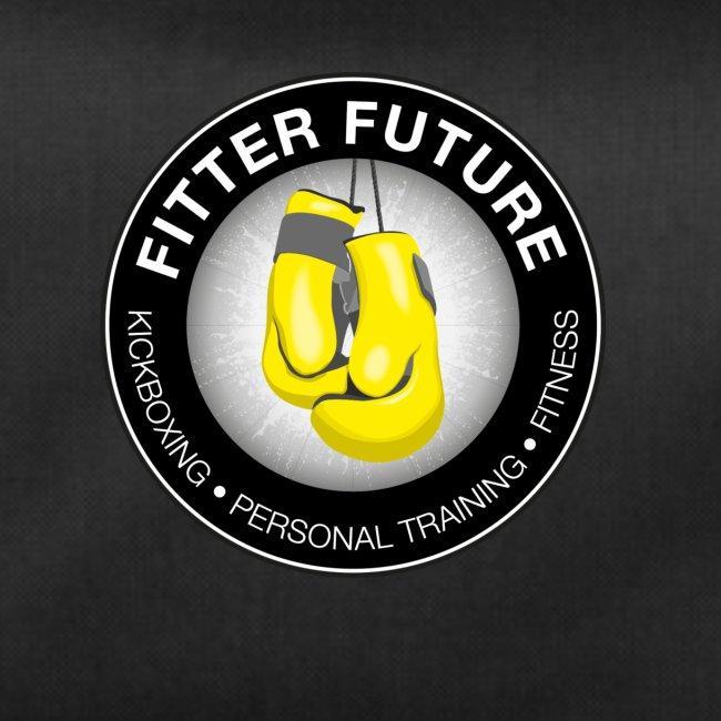 Grote sporttas Fitter Future logo beide kanten