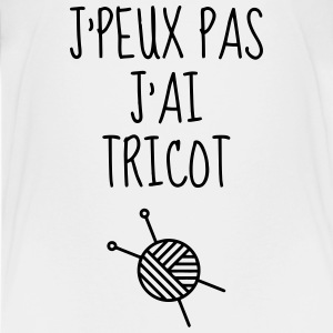 Tricot / Tricoter / Tricoteuse / Broderie Tee shirts - T-shirt Premium Ado
