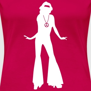 seventies T-Shirts - Frauen Premium T-Shirt