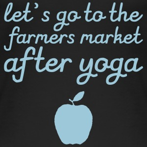 Let's go to the farmer's market after yoga Tops - Women's Organic Tank Top