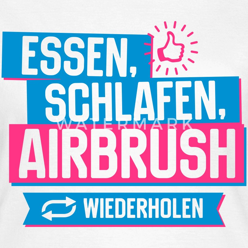 Hobby Airbrush T-Shirts - Frauen T-Shirt