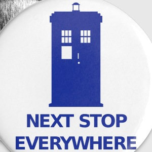 Next Stop Everywhere Badges - Badge petit 25 mm