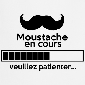 moustache design - Tablier de cuisine