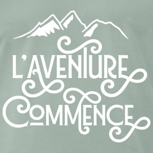 L'aventure commence Tee shirts - T-shirt Premium Homme