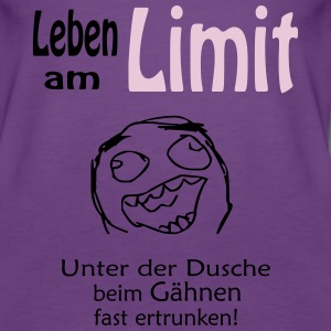 leben am limit Tops - Frauen Premium Tank Top
