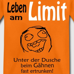 leben am limit T-Shirts - Kinder Premium T-Shirt