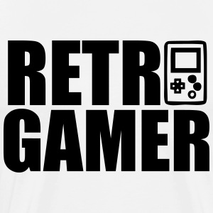 Retro Gamer - Männer Premium T-Shirt