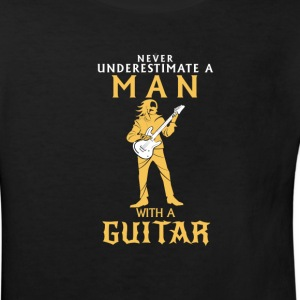 NEVER UNDERESTIMATE A MAN WITH A BASS GUITAR! Shirts - Kids' Organic T-shirt