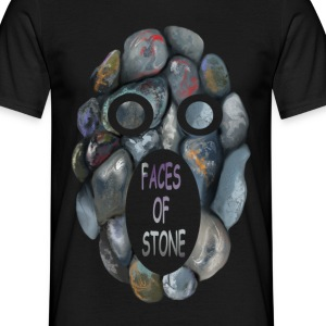 FACES OF STONE - Männer T-Shirt