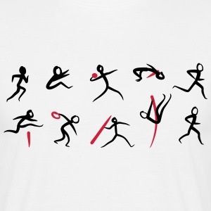 Decathlon, Track and Field T-shirts - T-shirt herr