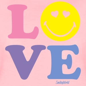 SmileyWorld LOVE - Camiseta premium mujer