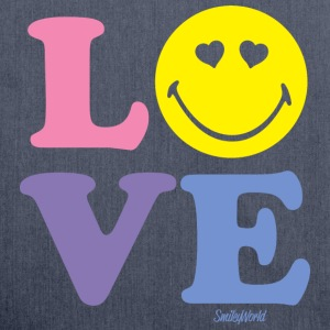SmileyWorld LOVE - Shoulder Bag made from recycled material